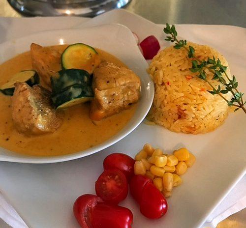 Le poulet au paprika de la cuisine Hongroise